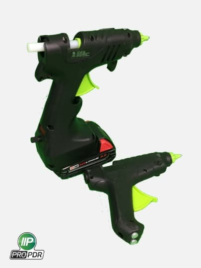 A photo of 2 Battery Operated Glue Guns.
