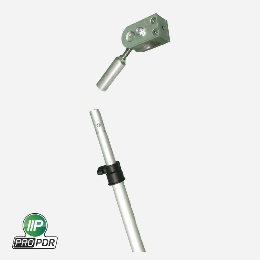 Flexible Telescoping Prop : Quot aluminum extendable boom arm w removable end mount
