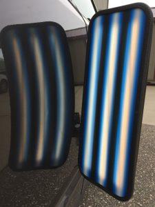 3D Saber Blue Triple Fade