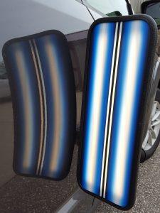 3D Saber Blue Line/ Fade Hybrid