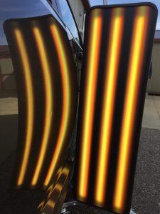 3D Amber Triple Fade
